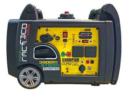 Champion 3100 Watt Dual Fuel Inverter Generator