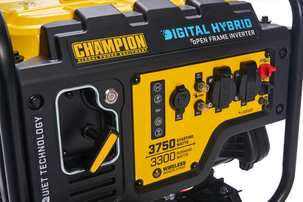 Champion 3500 Watt Frame Type Inverter